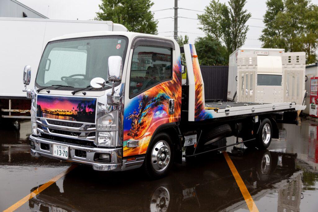 株式会社JINZAI様 搬送車